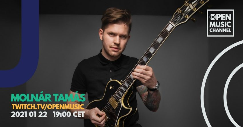 Online koncert: Molnár Tamás – OMC Live Session