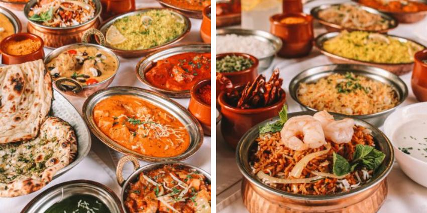 Indiai étel rendelés Budapesten: Salaam Bombay