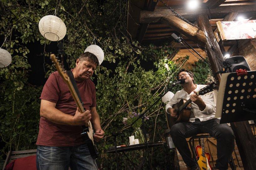 Lovasi András és Kispál András közös online koncertre készül