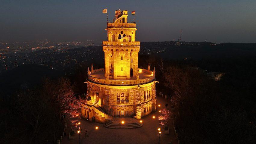 Magyarország legszebb kilátói: Erzsébet-kilátó - Budapest