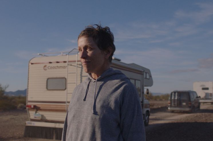 Golden Globe-díj 2021 győztesek: A nomádok földje