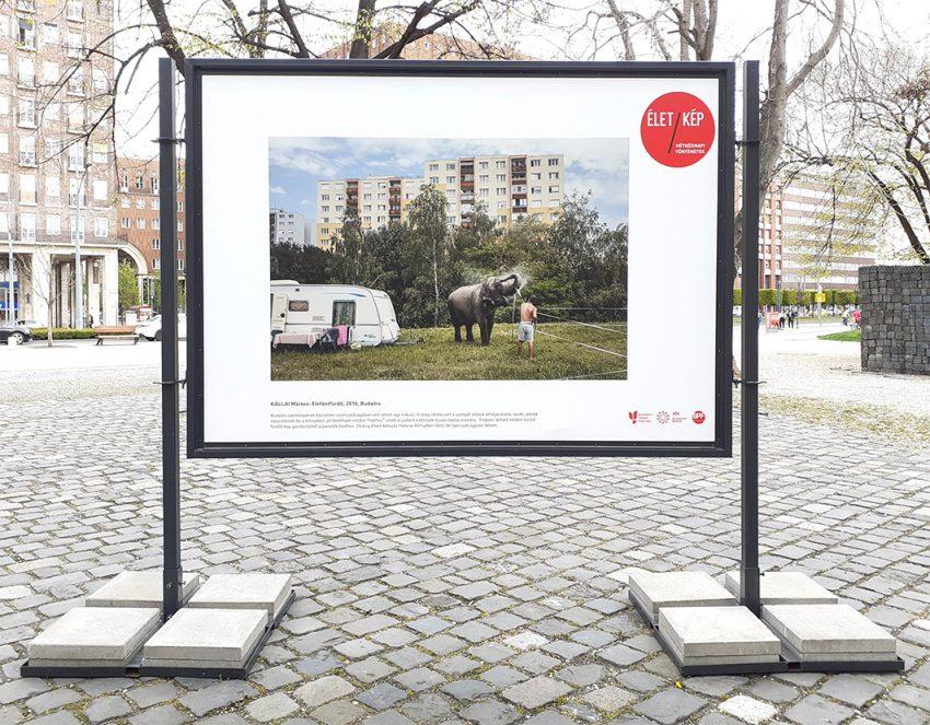 Szabadtéri kiállítás Budapesten