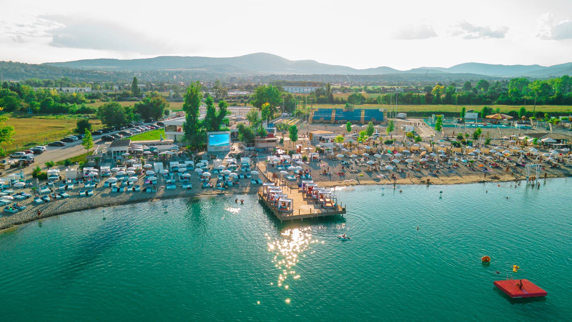 Nyit Budapest tengerpartja: Egy hétig ingyenesen látogatható a Lupa Beach