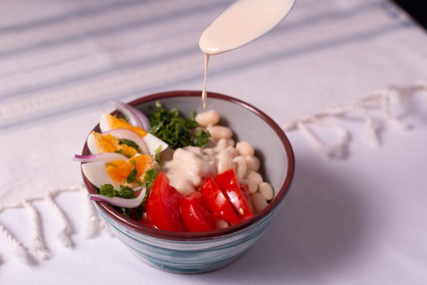 Autentikus török ételek recepjei: Antalya piyazı
