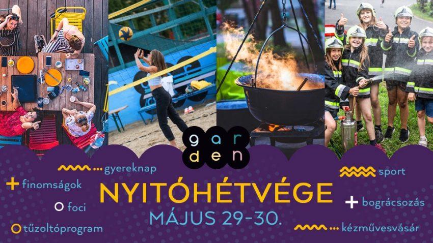 Gyereknapi programok 2021: Budapest Garden Nyitóhétvége