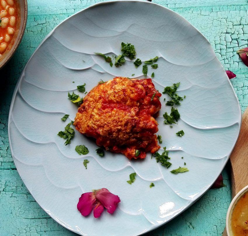 Jellegzetes török étel készítés: Karides güveç