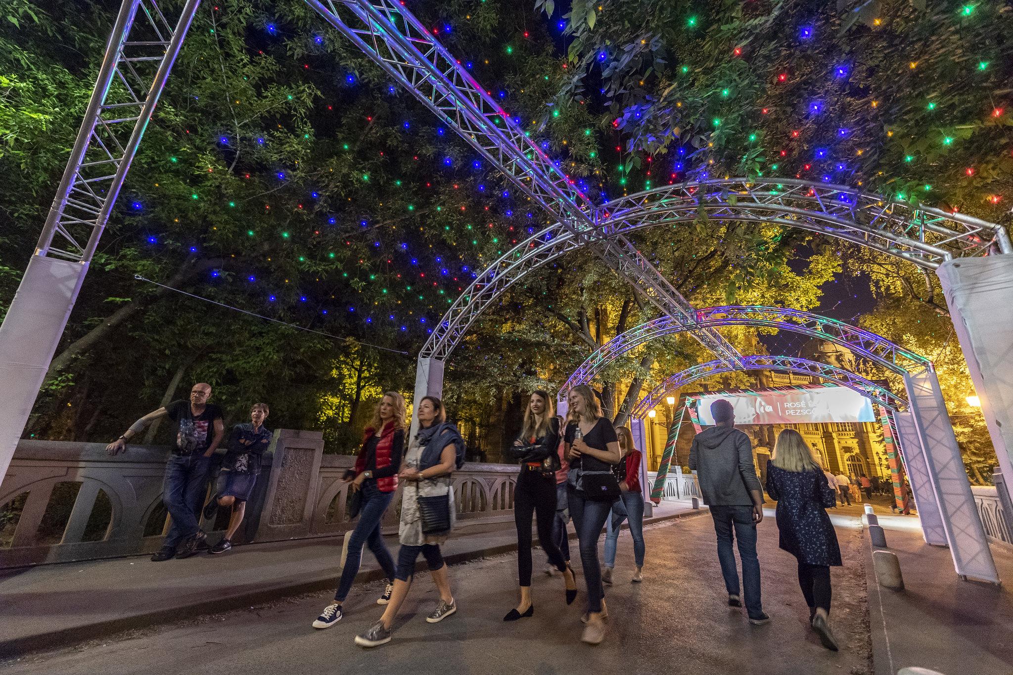 Finom borok, street food és élő koncertek várnak a Városliget nyári fesztiválján