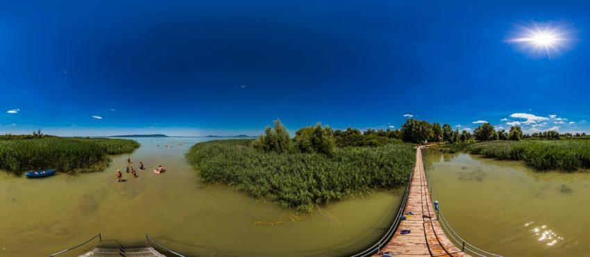 Ingyenes strand Balaton