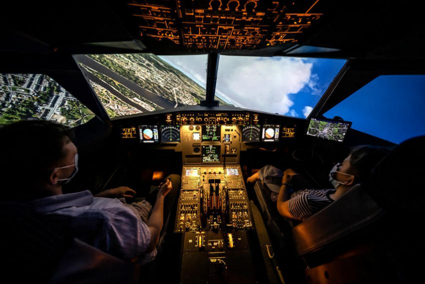 A320neo szimulátor - Nálunk te leszel a kapitány!