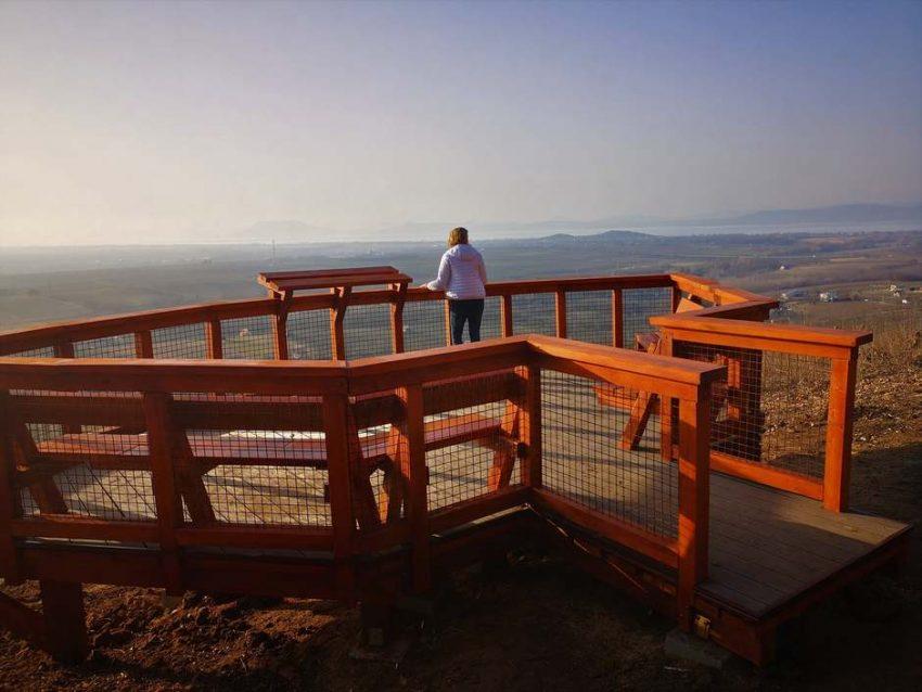 Balaton déli part látnivalók: Balatonlellei panorámaterasz