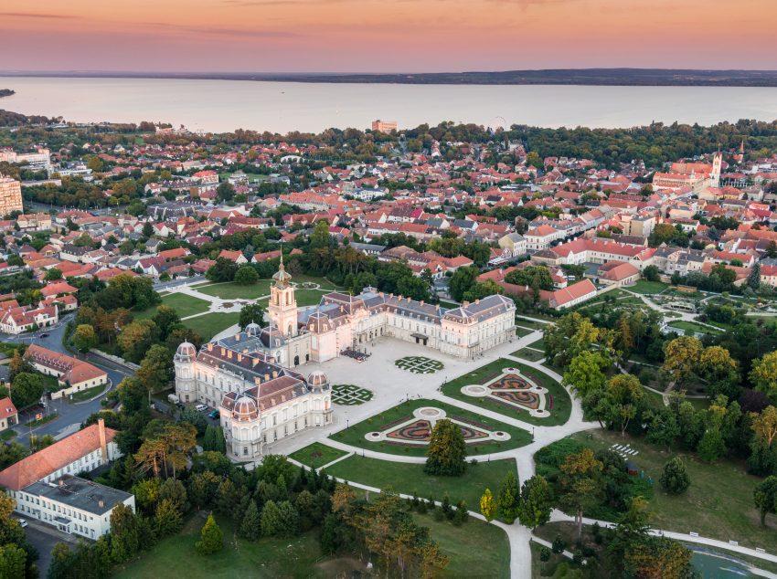 Észak Balaton látnivalók: Festetics-kastély, Keszthely