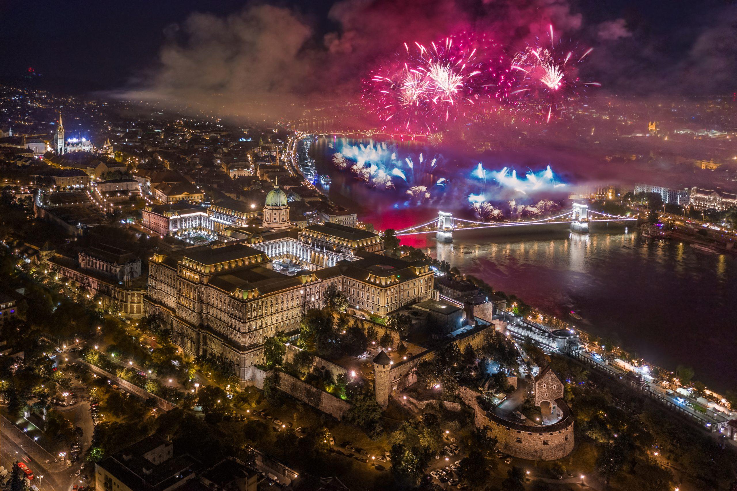 Minden eddiginél látványosabb lesz az augusztus 20-ai tűzijáték Budapesten