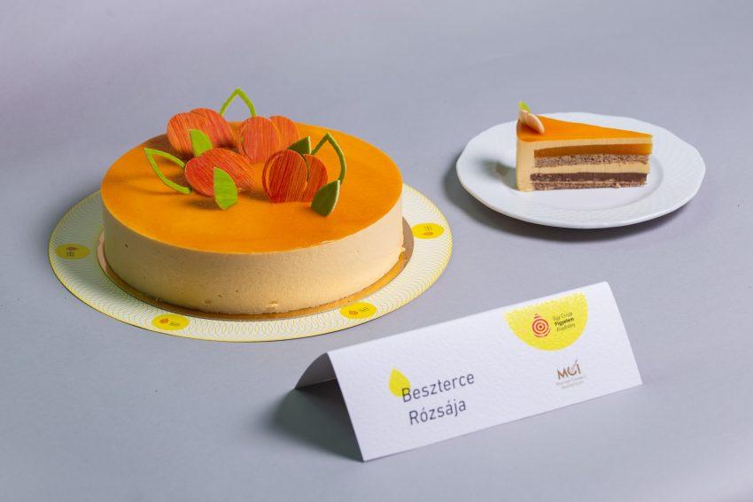 Az ország cukormentes tortája 2021: Beszterce rózsája