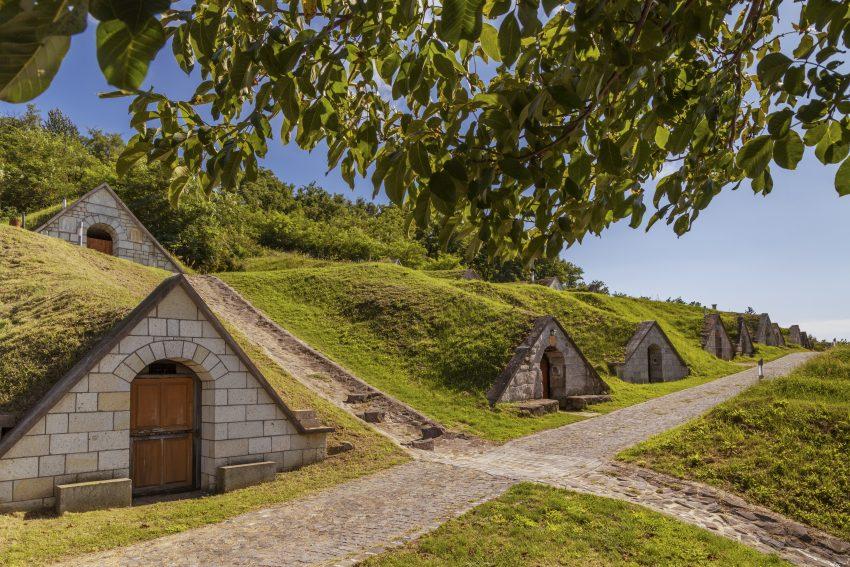 Magyarország legszebb helyei: Gombos-hegyi pincesor