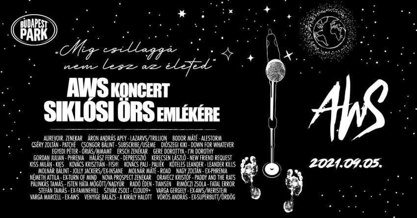AWS koncert Siklósi Örs emlékére
