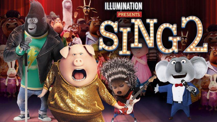 A legjobb rajzfilmek és mesefilmek 2021-ből: Énekelj 2.