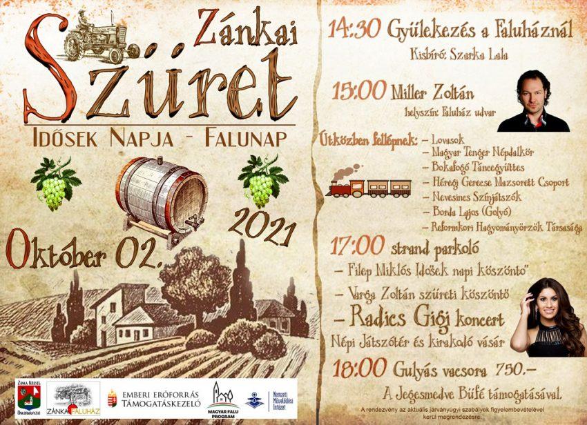 2021 októberi szüreti programok Balaton: Szüreti Felvonulás és Mulatság